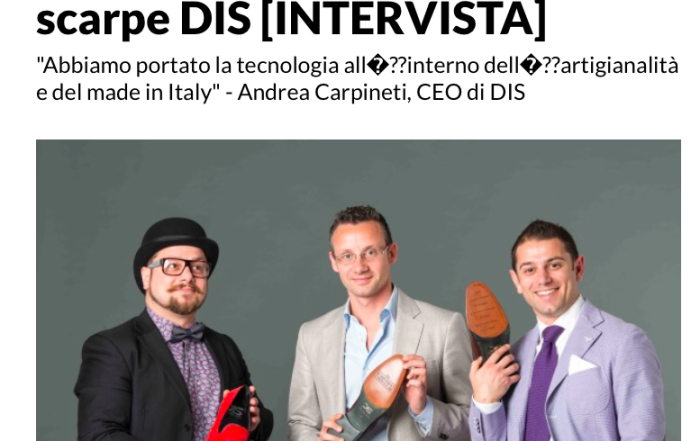 DIS Design Italian Shoes featured on Ninja Marketing: October 2015