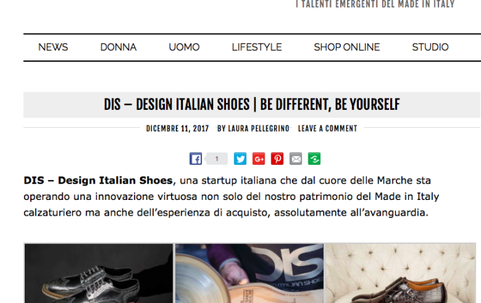 DIS Design Italian Shoes on OB Fashion 11 December 2017