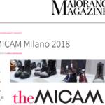 DIS Design Italian Shoes featured on Maiorano Magazine 10 February 2018