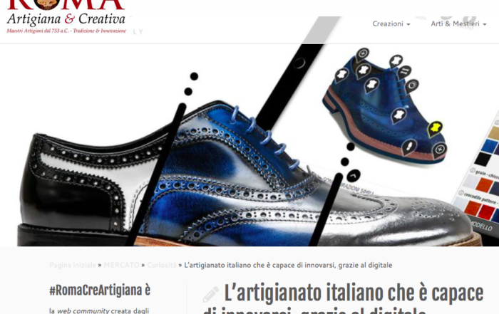 DIS Design Italian Shoes on Roma Artigiana & Creativa 15 February 2018