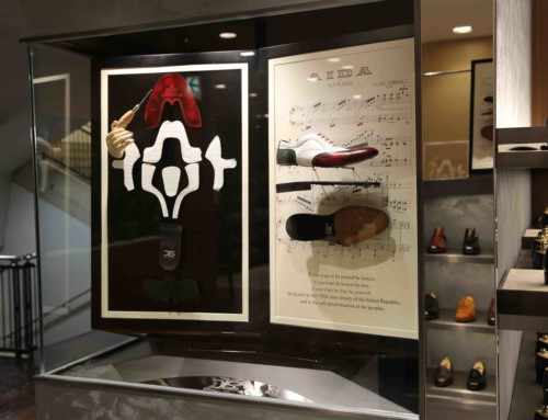 NUOVO CORNER PER DIS- DESIGN ITALIAN SHOES A ISETAN – THE CUBE MAGAZINE