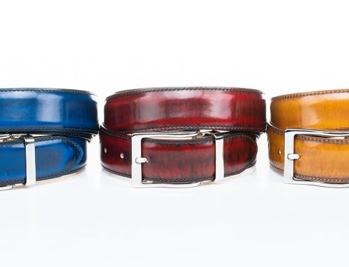 Gift Ideas for Men: custom leather belts for men!