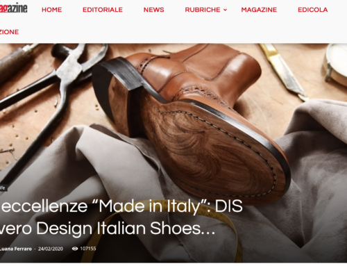 "Le Eccellenze ""Made in Italy"": DIS ovvero Design Italian Shoes – Screp Magazine"